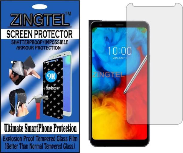 ZINGTEL Tempered Glass Guard for LG Q STYLUS ALPHA (Flexible, Unbreakable)