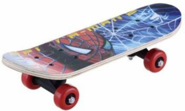 S.V.Enterprises Skateboard 5 inch x 3 inch Skateboard (Brown, Blue, Grey, Pack of 1) 3 inch x 5 inch Skateboard