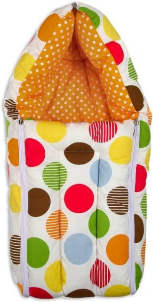 Miss & Chief Baby Polka and Orange Sleeping Bag