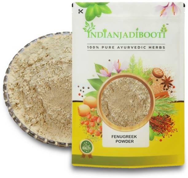 IndianJadiBooti Fenugreek Methi Dana Powder, 900 Grams Pack