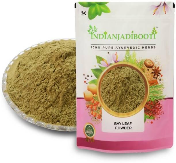 IndianJadiBooti Tej Patta Powder - Tejpatta Powder - Bay Leaf Powder - Cinnamomum Tamala, 400 Grams