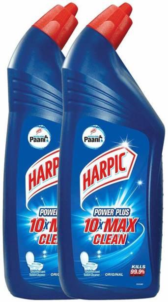 Harpic Power Plus Original Liquid Toilet Cleaner,200ml ( pack of 2 ) Original Liquid Toilet Cleaner