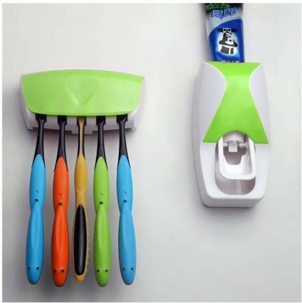 SarjuZone Plastic Toothbrush Holder