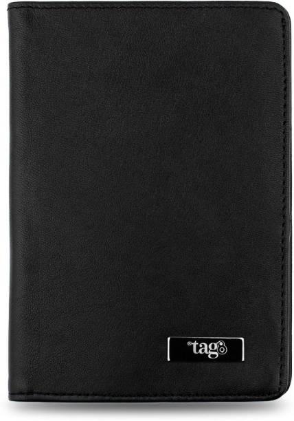 Tag8 RFID Genuine Leather Passport Finder Case
