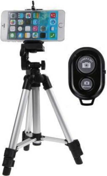 Firststep Tripod With Bluetooth Mobile Remote For Photoshoot, Video Shoot Tripod, Tripod Kit, Tripod Ball Head, Tripod Bracket