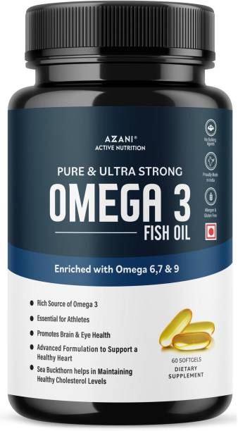 Azani Active Nutrition Pure & ultra-strong Omega 3 Fish Oil