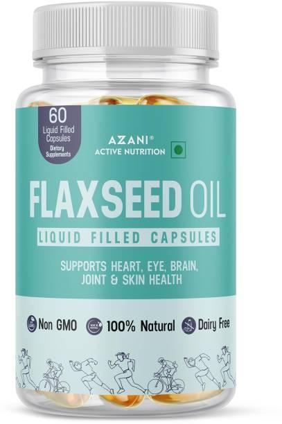 Azani Active Nutrition Omega 3 Flaxseed Oil