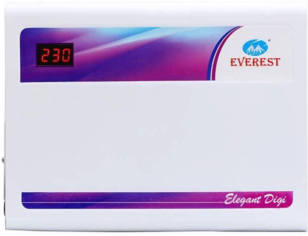 Everest 4 KVA Elegant Digital Model Voltage Stabilizer Used Upto 1.5 Ton AC Power Input (160 V to 270 V) Voltage Stabilizer