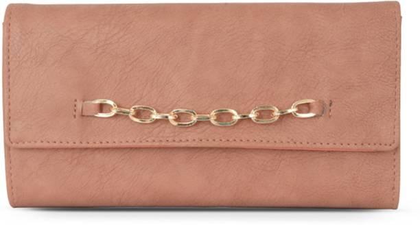 Baggit Women Pink Artificial Leather Wallet