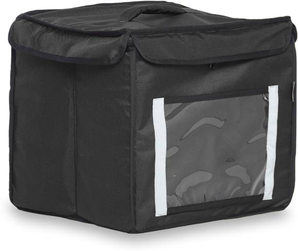 PINNIUM Delivery Champ Foldable Multipurpose Delivery Bag - Black (OS) Waterproof Backpack