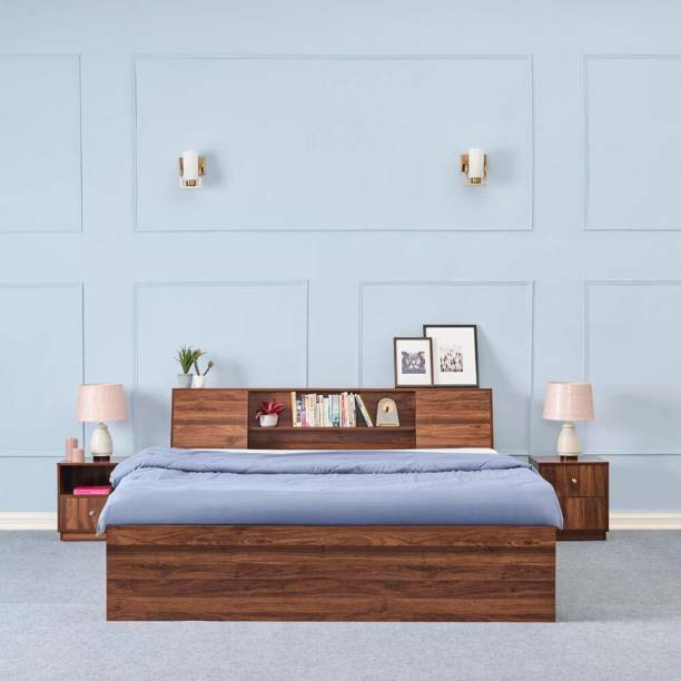 Wakefit Orion Engineered Wood King Box Bed