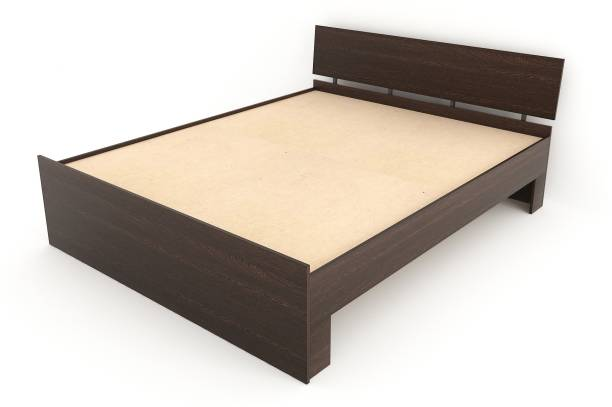 BLUEWUD Pollo Engineered Wood Queen Bed