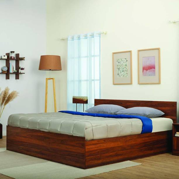 Wakefit Taurus Engineered Wood Queen Box Bed