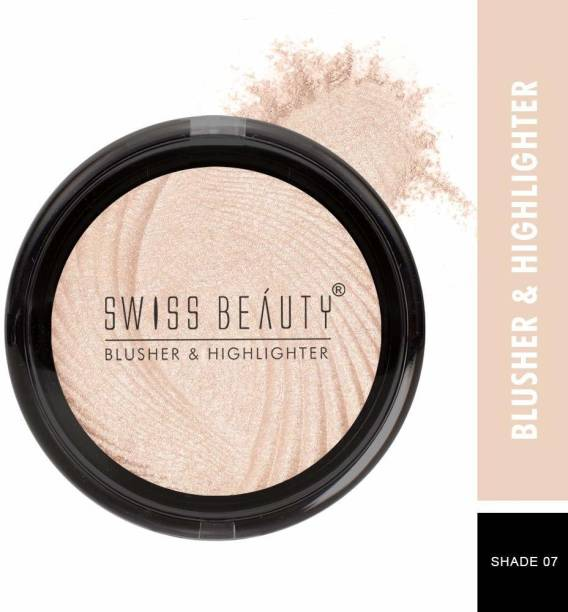 SWISS BEAUTY Professional Baked Blusher And Highlighter