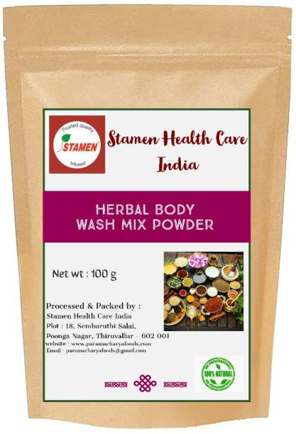 Stamen Health Care India Herbal Body Wash Mix Powder