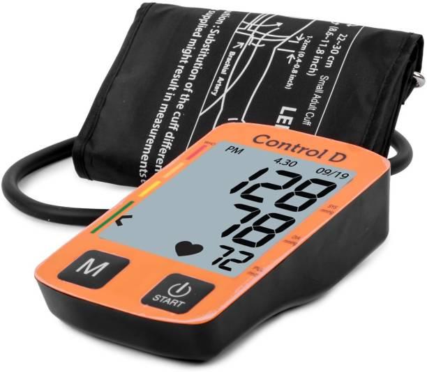 Control D Fully Automatic Oscillometric Digital Blood Pressure Checking Machine Upper Arm Portable Digital Blood Pressure Monitor Bp Monitor