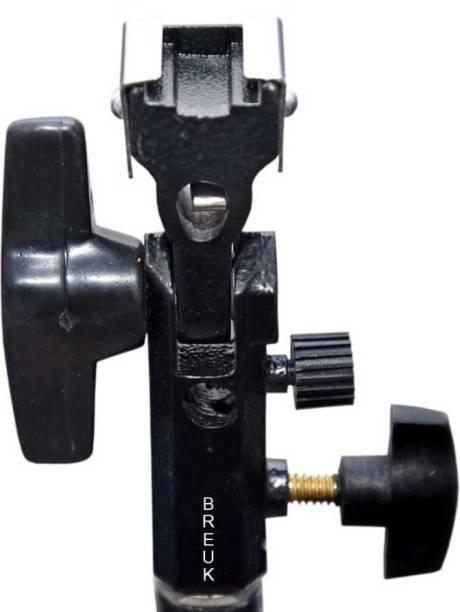 Breuk Camera Flash Speedlite Mount Swivel Light Stand Bracket with Umbrella Reflector Holder Custom Flash Bracket