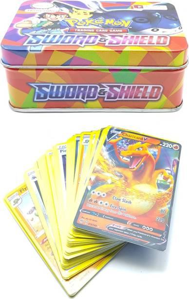 AncientKart Pokémon Sword & Shield tin with cards