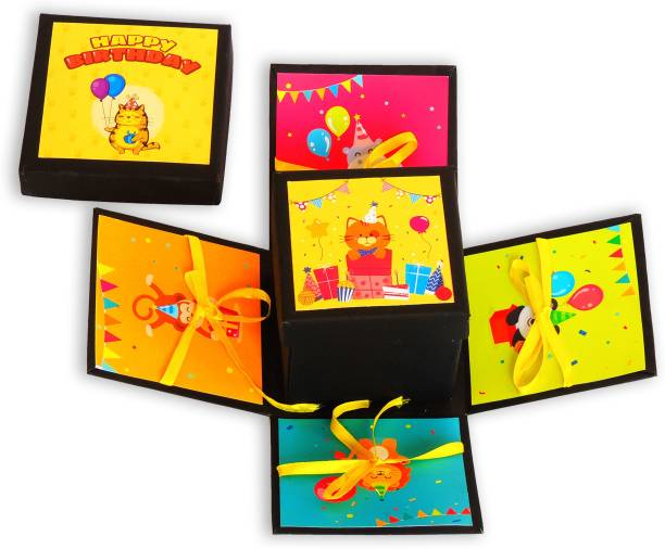 Nyaro HAPPYBIRTHDAYBOX Greeting Card