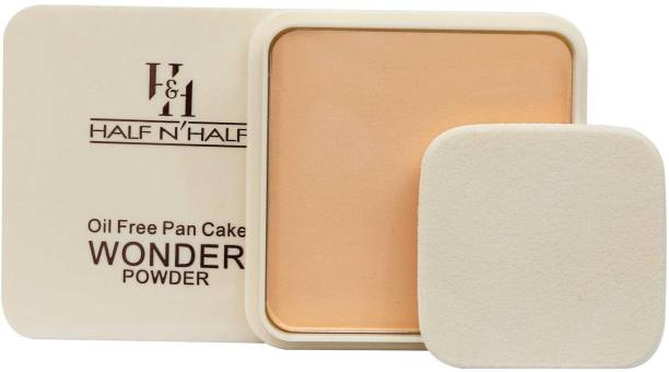 Half N Half Oil Free Pan Cake WONDER Powder CP-19-01 Light Sweep Compact