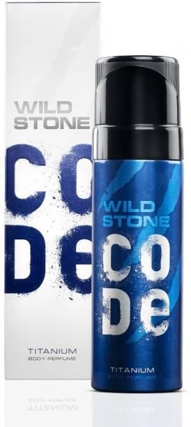 Wild Stone Code Titanium (150ml) Body Spray  -  For Men