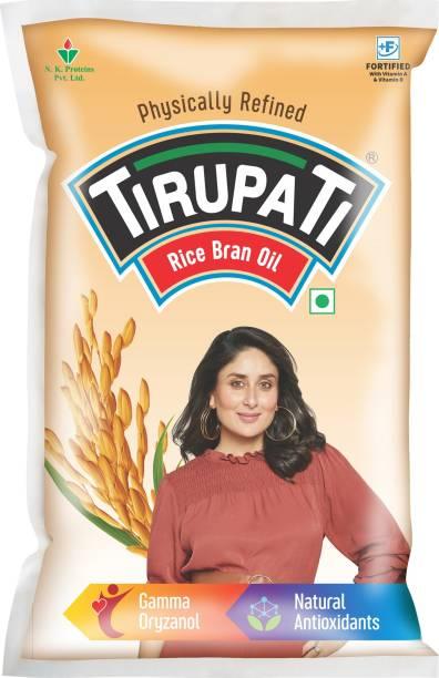 TIRUPATI Rice Bran Oil Pouch