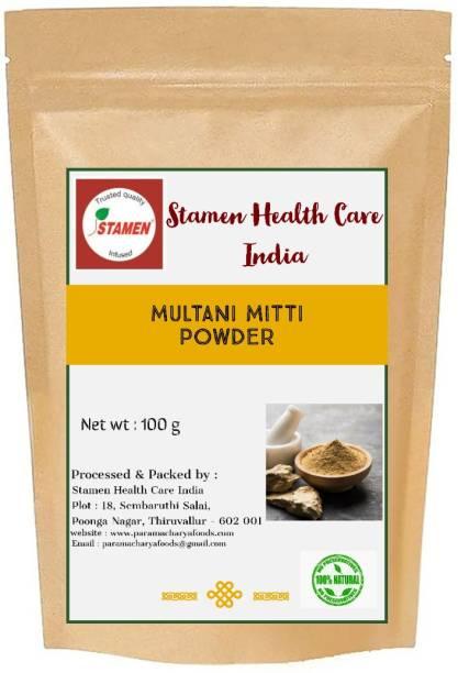 Stamen Health Care India Multani Mitti Powder