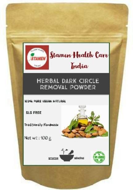 Stamen Health Care India 1.Herbal Dark Circle Powder