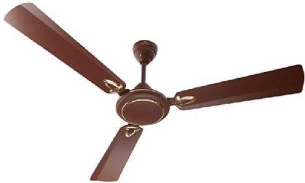 BAJAJ Bajaj Grace DLX 1200Mm Matt Brown Celling Fan 250501 1200 mm 3 Blade Ceiling Fan