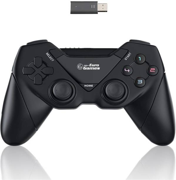 RPM Euro Games PC Controller Wireless Gamepad For PS3 / Windows XP/7/8/8.1/10 Only Bluetooth  Gamepad