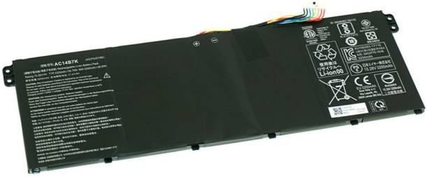 SellZone compatible battery for Aspire 5 A515-52 A515-52G A515-54 A515-54G A517-51 A517-51G AC14B7K KT.0040G.006, KT.00407.003, KT.00403.040, AC14B7K, KT.0040G.011, KT.00304.012, KT.0040G.011 4 Cell Laptop Battery