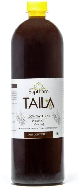 Saptham Taila 100% Cold Pressed Neem Oil