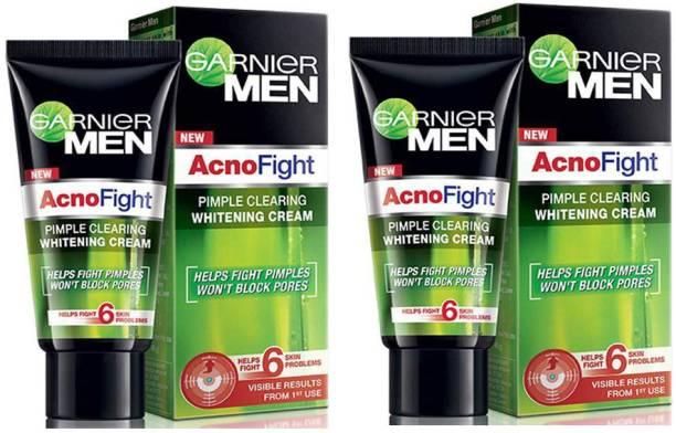 GARNIER Acno Fight Pimple Clearing Whitening Cream 2X20g
