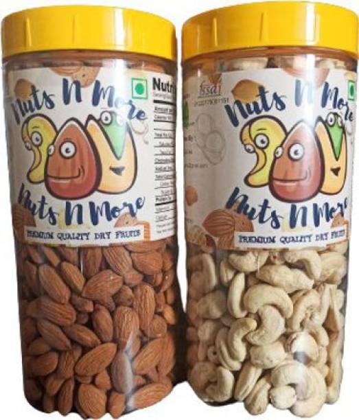 Nuts N More Cashew Almonds Cashews, Almonds