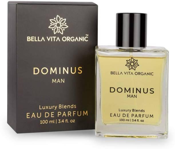 Bella vita organic Dominus Strong Perfume For Men EDP Long Lasting Scent Woody Fragrance ,100 ml Perfume  -  100 ml