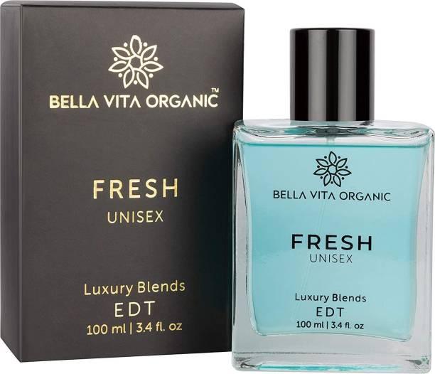 Bella vita organic Fresh Unisex Perfume For Men & Women with Woody Aquatic Scent EDT Fragrance, 100 ml Perfume  -  100 ml