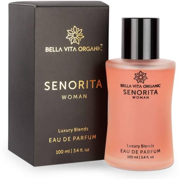 Bella vita organic Senorita Perfume For Woman, Fresh and Fruity Long Lasting Scent Ladies Girls Perfume,100 ml Perfume  -  100 ml