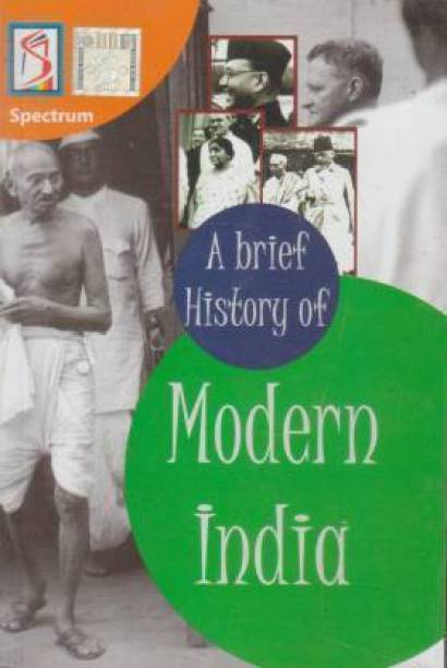 History Book, Modern India Latest Edition 2018, India, PaperBack (Rajiv Ahir)
