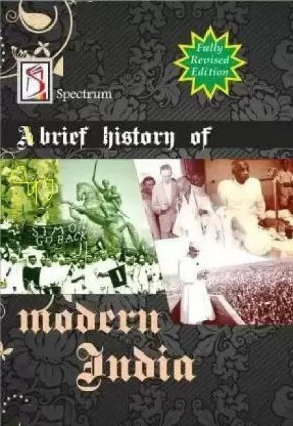 History Book, Modern India Latest Edition 2018, India, PaperBack (Rajiv Ahir) (Paperback, Rajiv Ahir)