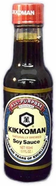 Kikkoman All Purpose Seasoning Naturally Brewed Soy Sauce, 150ml Sauce