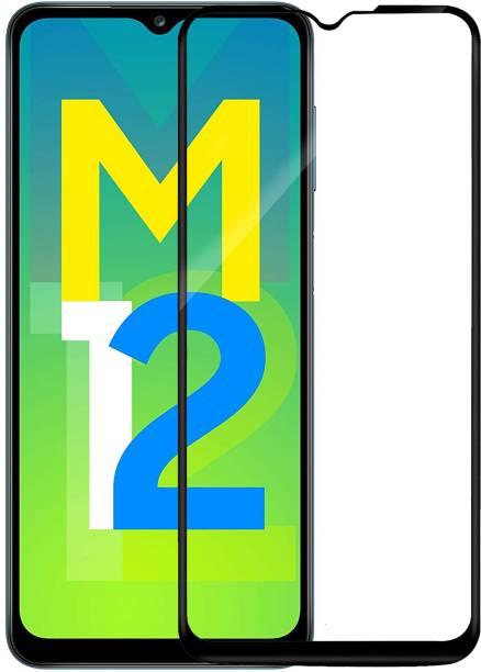 Hupshy Edge To Edge Tempered Glass for Samsung Galaxy M12, Samsung Galaxy F12