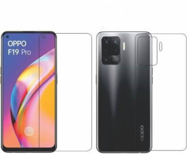 PR SMART Front and Back Tempered Glass for Oppo F19 Pro