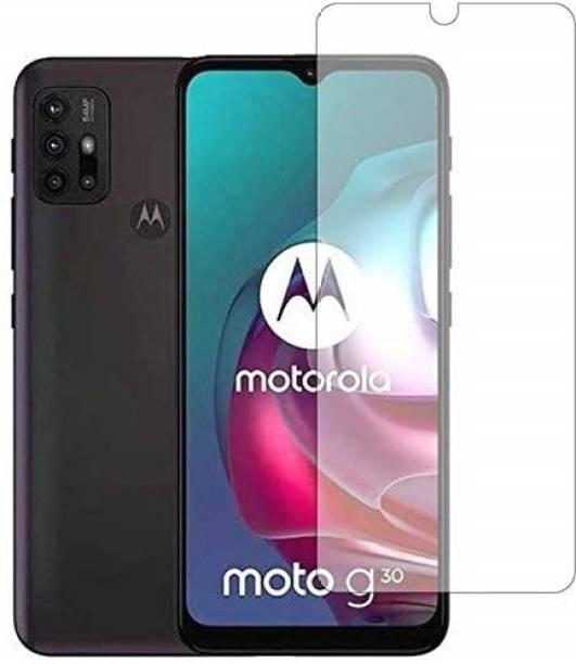 Bodoma Tempered Glass Guard for Motorola G30