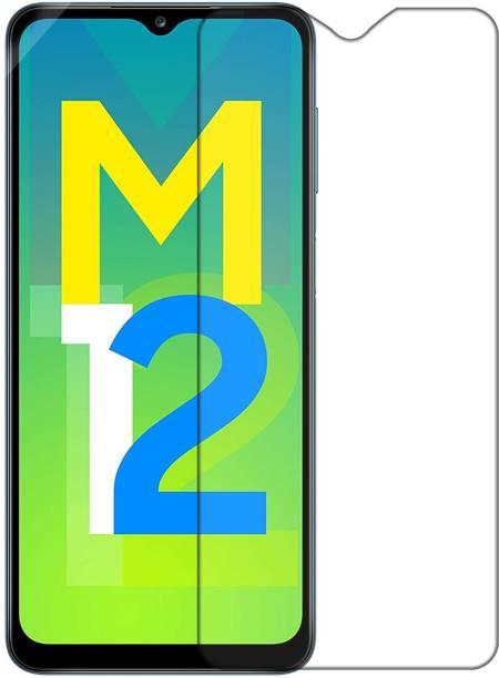 Hupshy Tempered Glass Guard for Samsung Galaxy M12, Samsung Galaxy F12