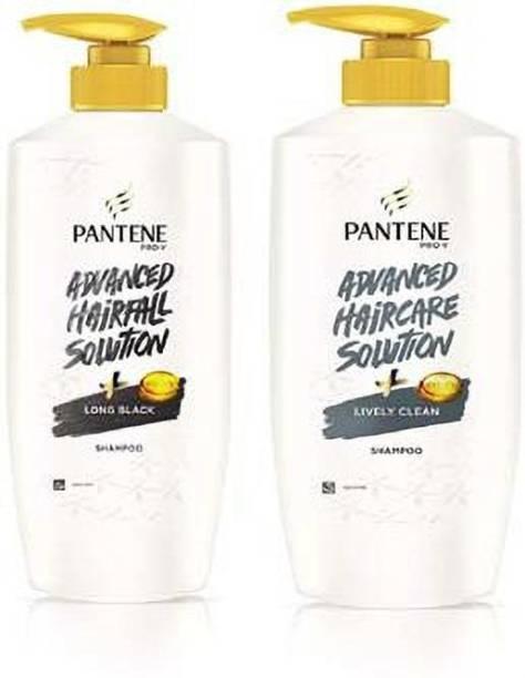 PANTENE Lively Clean & LOng Black Shampoo 650ml