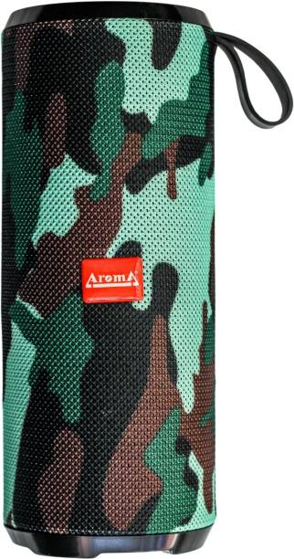 Aroma Yellow Series Studio 30 Portable Wireless 6 Hours Playing Time & Splashproof 5 W Bluetooth Speaker