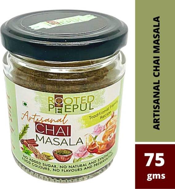 ROOTED PEEPUL Artisanal Chai Masala 75gms