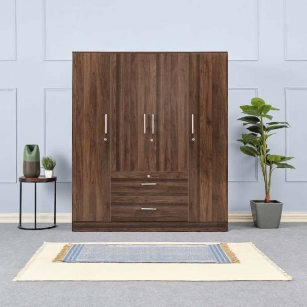 Wakefit Organza Engineered Wood 4 Door Wardrobe