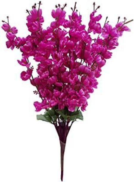 Delmohut Purple Pear Blossom Artificial Flower