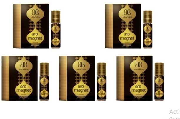 AROCHEM Aro Magnet perfume / Attar long lasting fragrance (6ml each) Herbal Attar
